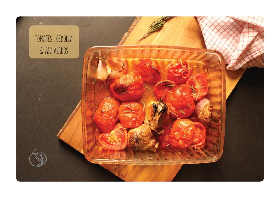 tomates ajos asados horizontal